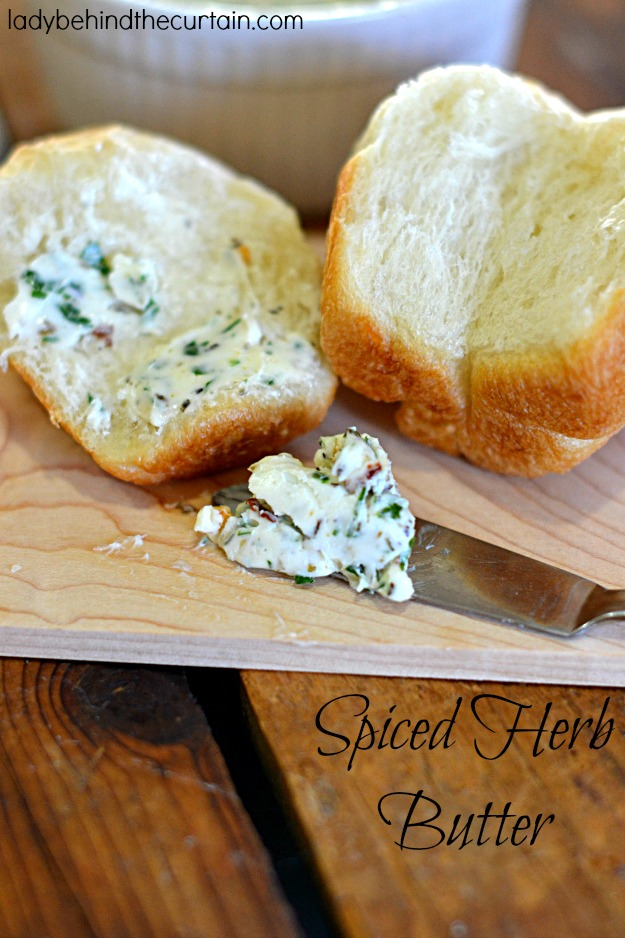 Spicy Herb Butter - Lady Behind The Curtain