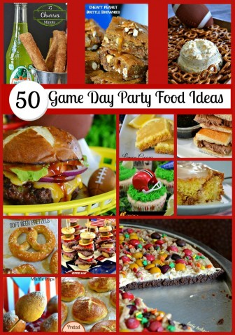 50 Game Day Party Food Ideas