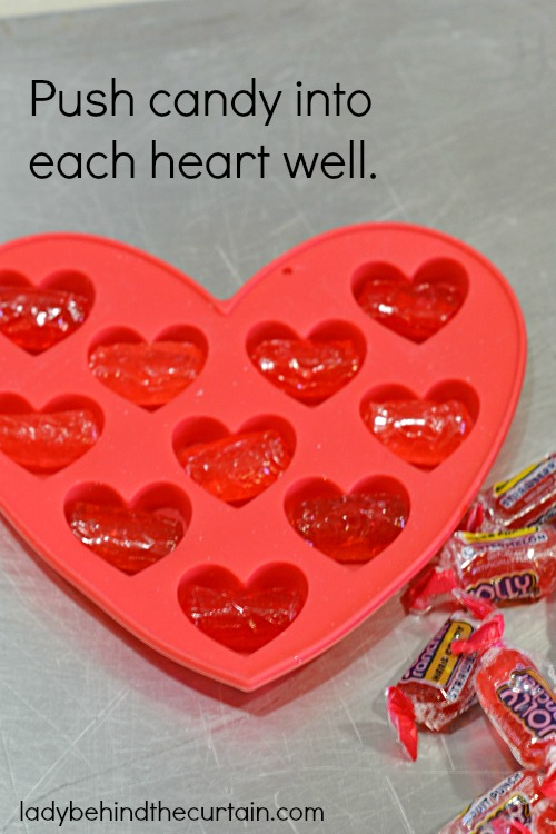 DIY Heart Shaped Candies - Lady Behind The Curtain