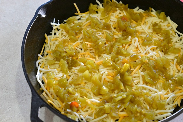 Green Chili Breakfast Casserole - Lady Behind The Curtain