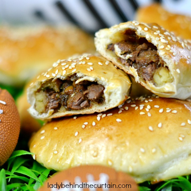 Korean Beef Pockets - Lady Behind The Curtain