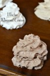 Mocha Whipped Cream