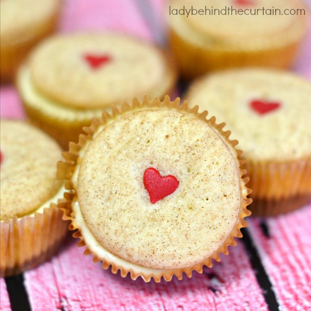Snickerdoodle Cookie Dough Mini Cheesecakes - Lady Behind The Curtain 10