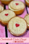 Snickerdoodle Cookie Dough Mini Cheesecakes - Lady Behind The Curtain