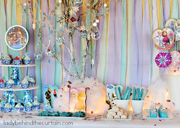 Frozen Princess Birthday Party