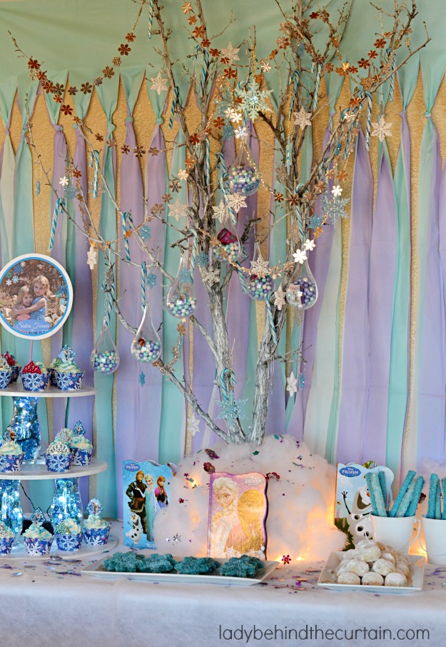 Frozen Princess Birthday Party - Lady Behind The Curtain