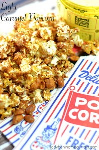 Light Caramel Popcorn - Lady Behind The Curtain