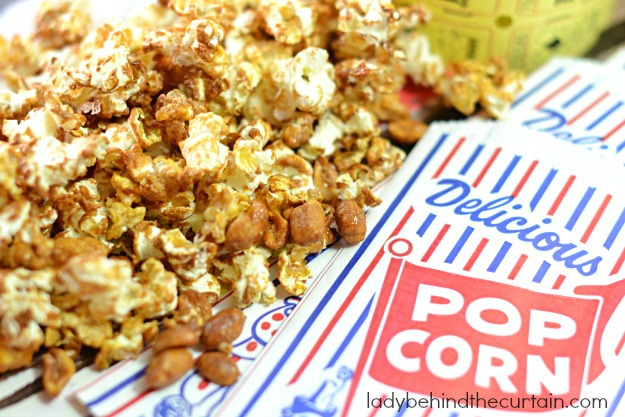 Light Caramel Popcorn