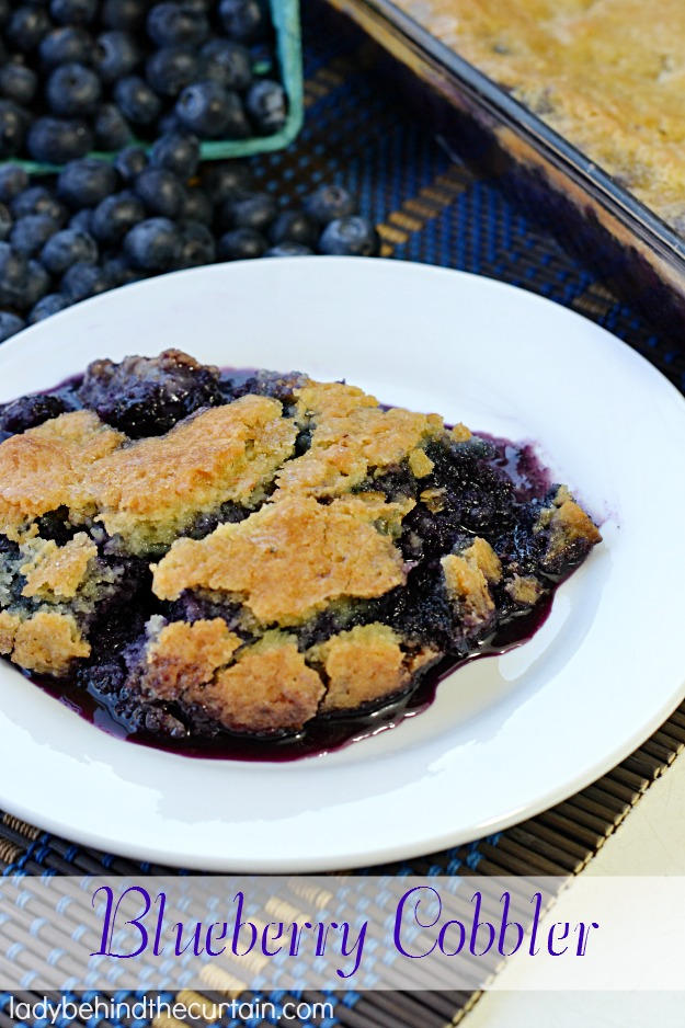 Blueberry Cobbler - Lady Behind The Curtain