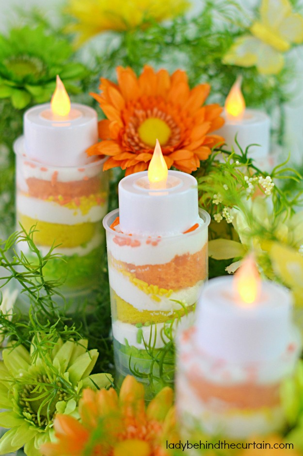 Celebration Citrus Layered Cakes - Lady Behind The Curtain