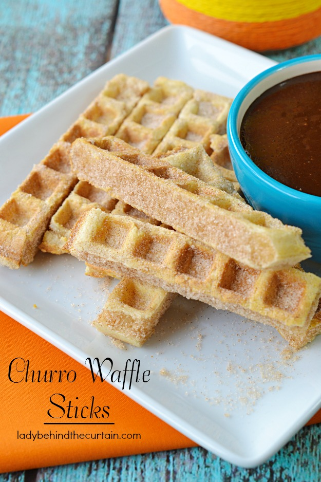 Churro Waffle Sticks - Lady Behind The Curtain