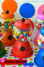 DIY Gumball Machine Party Favors
