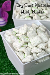 Fairy Dust Pistachio Muddy Buddies - Lady Behind The Curtain