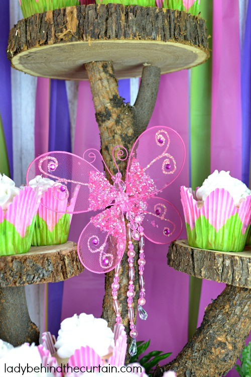 Tinker Bell Woodland Party - Lady Behind The Curtain