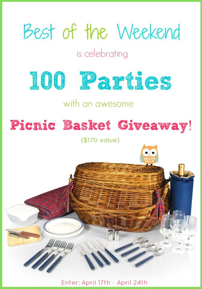 Best of the Weekend - Picnic Basket Giveaway