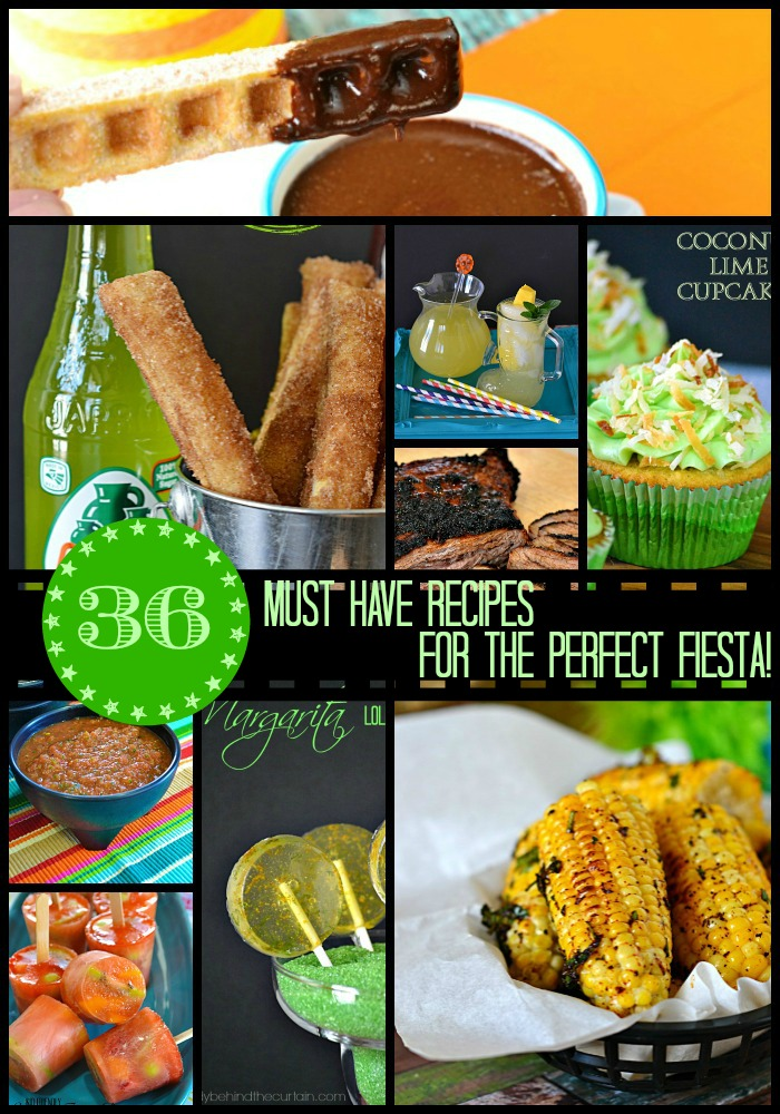 Instead of searching all over the internet I have put together some of my favorite must have recipes for the perfect celebration!  With drink ideas (non alcoholic), salsa, main dish and dessert!