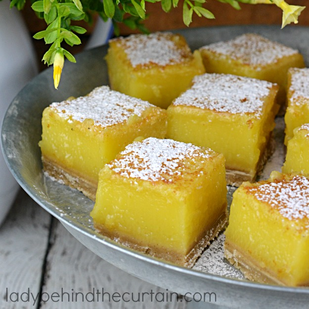 Everything you love about lemon bars but enhanced with a browned butter crust.