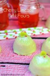 Cherry Limeade Petit Fours - Lady Behind The Curtain