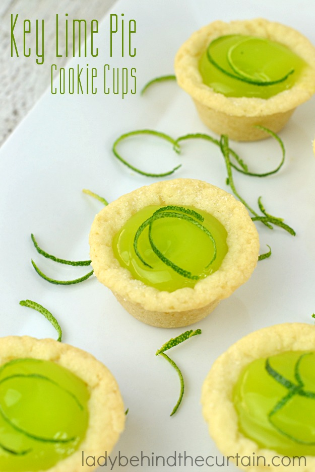 Made with store bought sugar cookies and filled with a delicious lime curd. Perfect for your next barbecue!