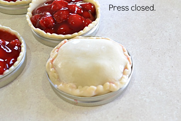 An easy to make fun way to make cherry pies for a party. Full of cherries and crispy crust.