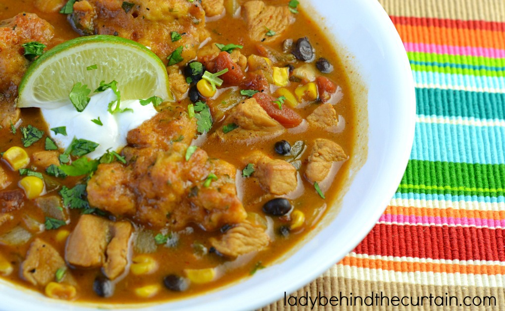 The perfect soup to serve before a Mexican meal or as a main course.