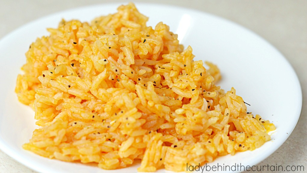 Better than restaurant rice. Simple and tasty.