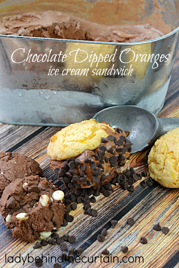 Everything you love about oranges dipped in chocolate.
