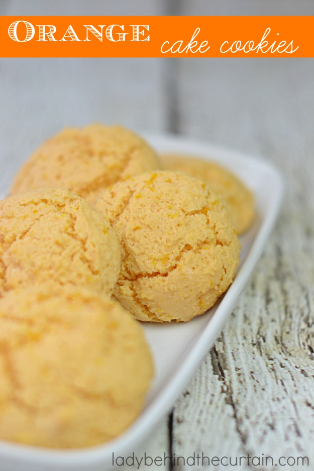 These easy to make chewy cookies start with a white cake mix. Perfect for a spring or summer event.