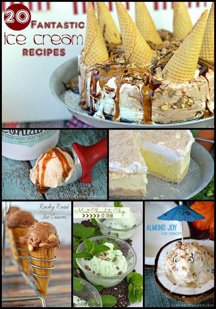 20 Fantastic Ice Cream Recipes