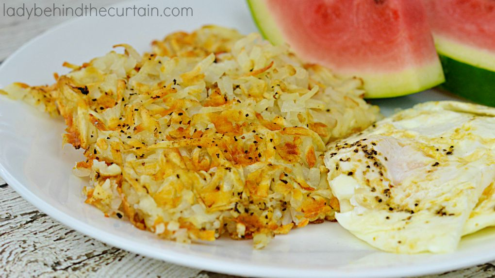These 5 Minute Waffle Hash Browns are crunchy and super easy to make.