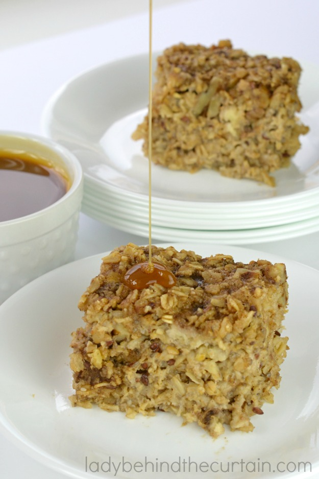 Packed with healthy ingredients, light and creamy almost like a bread pudding.