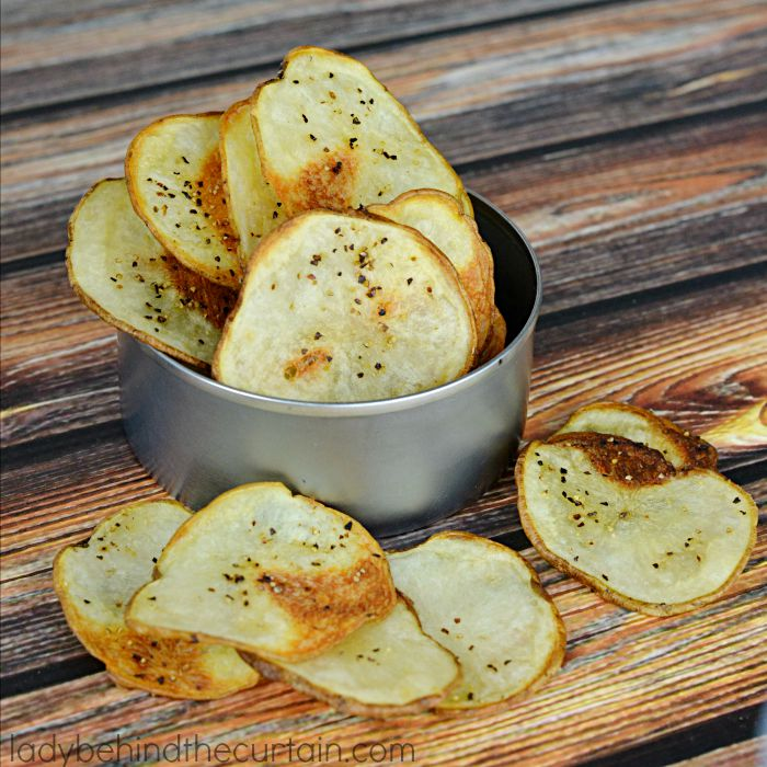 Potato chips without salt