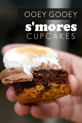 gooey-smores-cupcakes