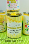 Get Well Soon Sunshine Cake in a Can