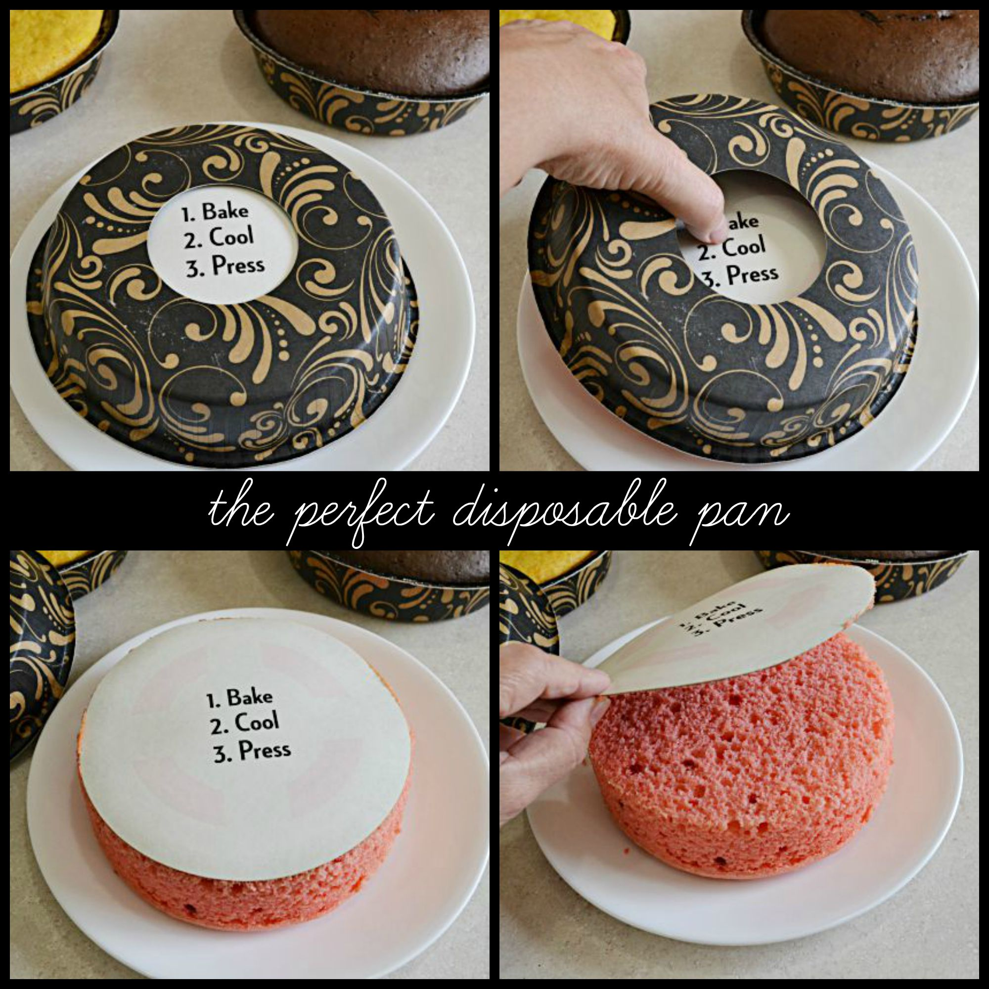 Perfect Size Party Cakes and a Giveaway!