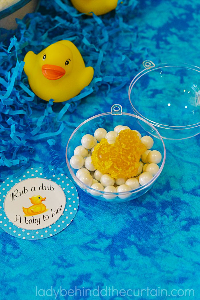 Rub a Dub Dub Baby Shower Centerpiece and Party Favor 5