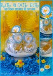 Rub a Dub Dub Baby Shower Centerpiece and Party Favor 6