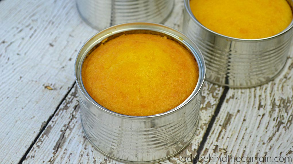 Tin Can Pineapple Upside Down Cake
