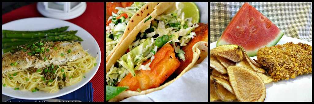 ... CRUSTED FISH DINNER 2. BEER BATTER FISH TACOS 3. OVEN FRIED FISH AND