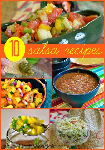 10 Salsa Recipes to Help you Create Your Own Salsa Bar