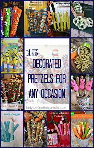 15 Festive Pretzels for Any Occasion