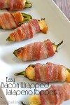 Easy Bacon Wrapped Jalapeno Poppers | Make your own Snack Hack!