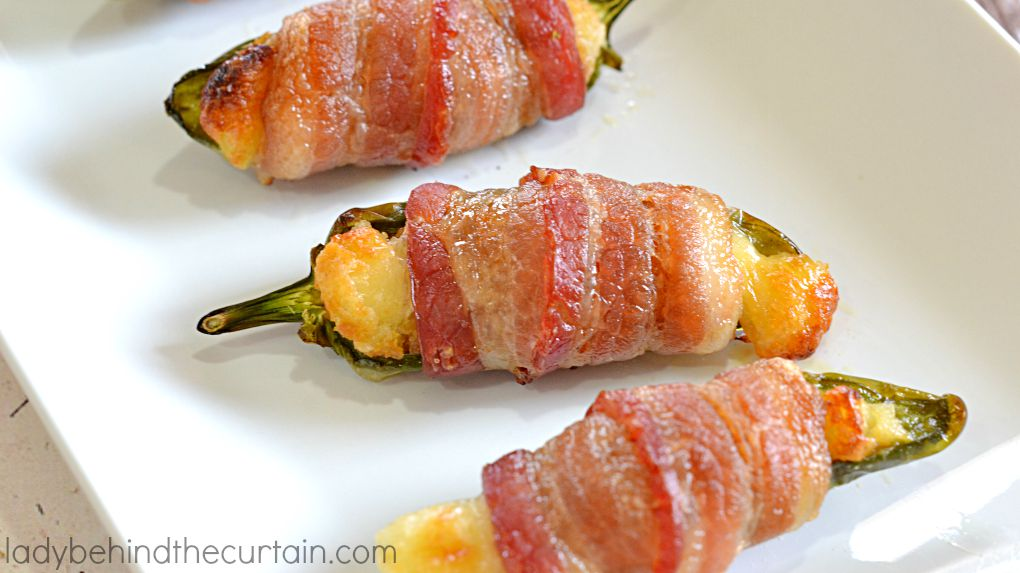Easy Bacon Wrapped Jalapeno Poppers
