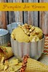 Homemade Pumpkin Ice Cream Recipe