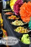 How to Create a Salsa Bar   Whether you're celebrating a birthday, having a fiesta or it's game day a salsa bar is fun and easy to put together.