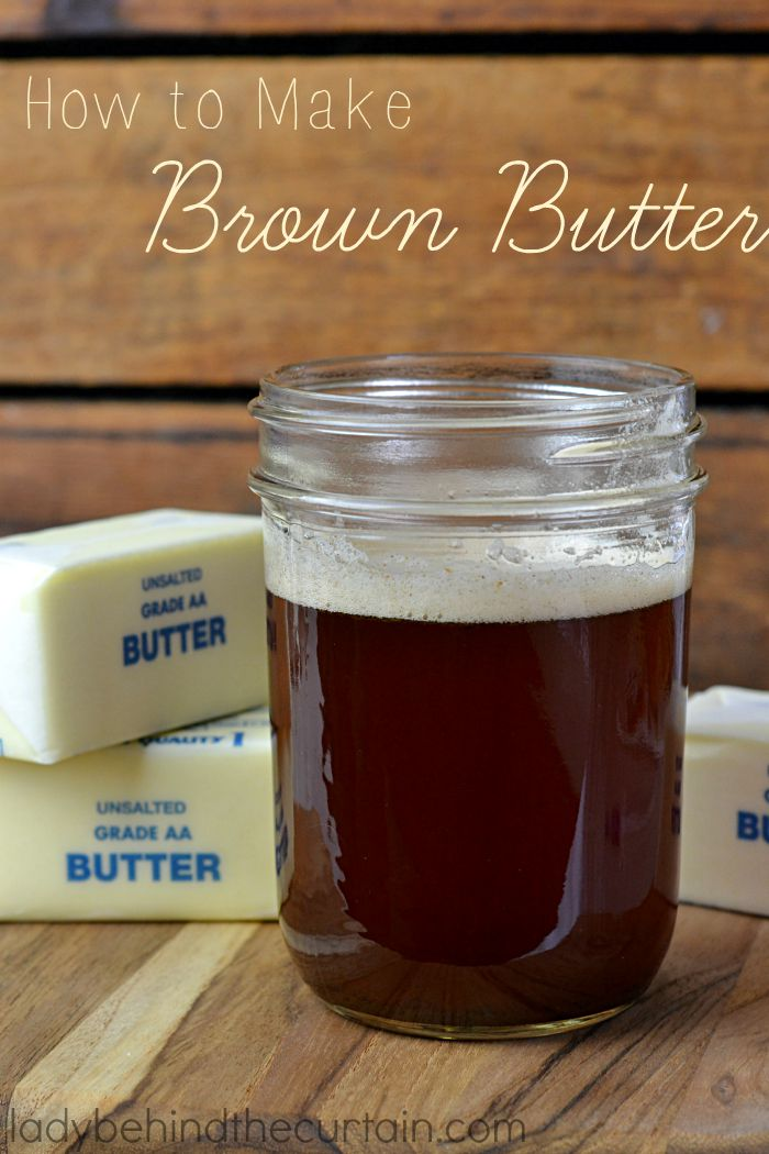 How to Make Brown Butter | An easy way to add a caramel/nutty flavor to your dish. Whether that's for baking or something savory.