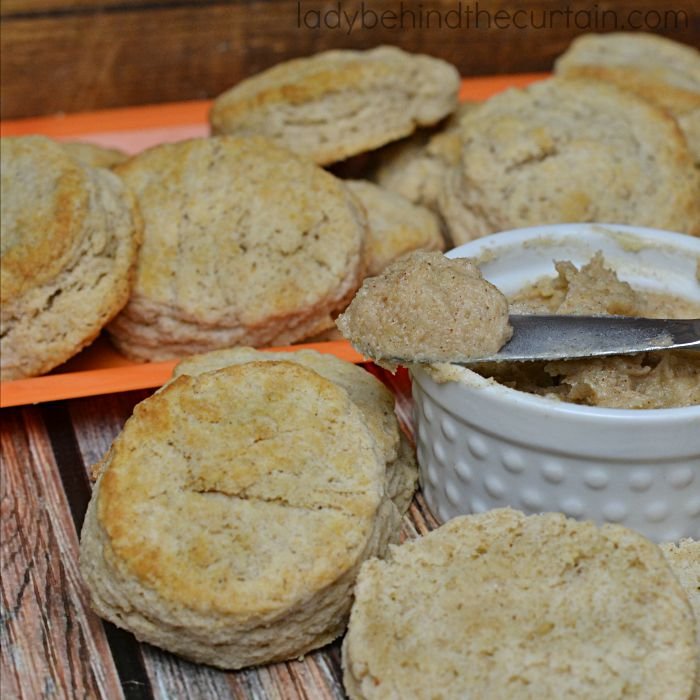 hese light and fluffy biscuits are even better slathered with my Pumpkin Spice Butter!