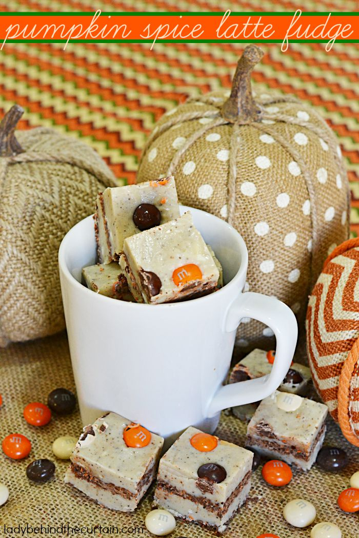 Pumpkin Spice Latte Fudge | For when you would rather eat your latte instead of drink it!