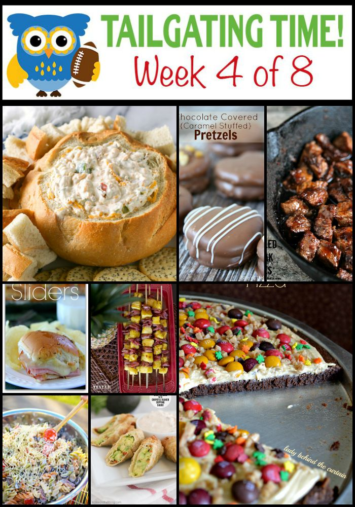 The Ultimate Tailgating Recipe Series Week 4
