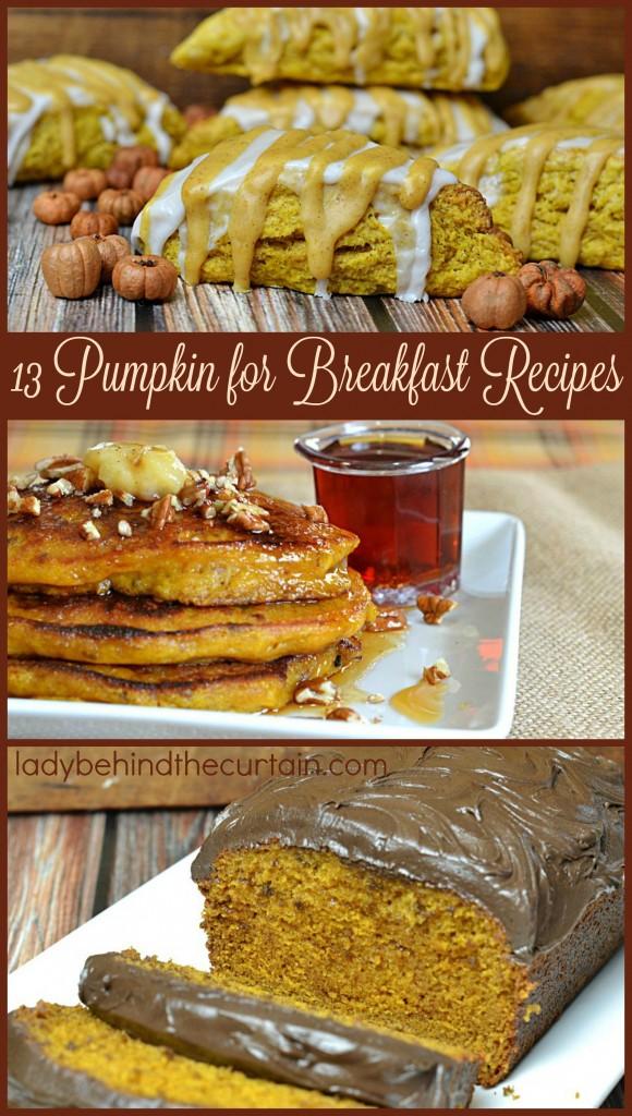 13 Pumpkin for Breakfast Recipes